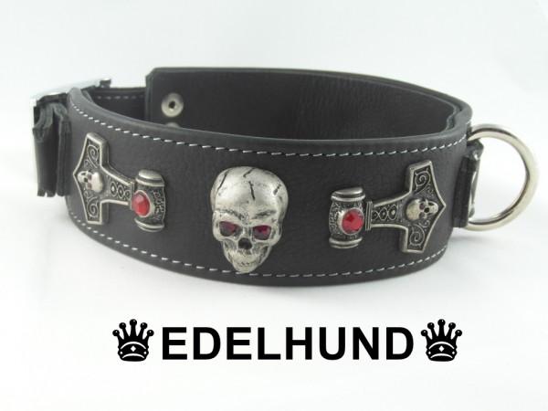 "Exklusives Hundehalsband aus Leder ""Thor"""