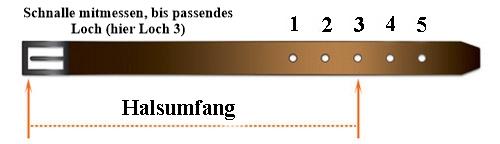 Massanleitung-Halsband