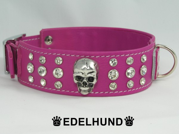 "Exklusives Strass Hundehalsband ""Terror Tussi"""