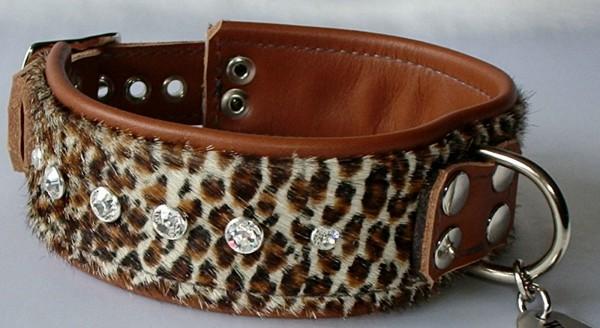 """Luxus Hundehalsband aus Leder """"Samoa"""""""