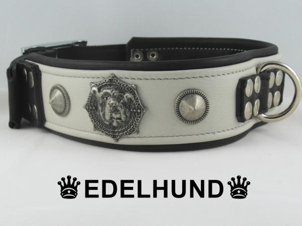 """Hundehalsband aus Leder """"Bulldog"""""""