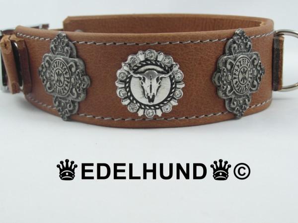 "Luxus Hundehalsband Western ""Bullride"""