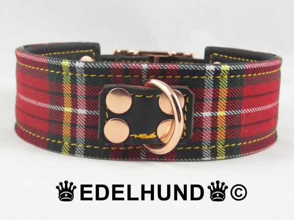 "Schottenkaro Hundehalsband ""London Pure"""