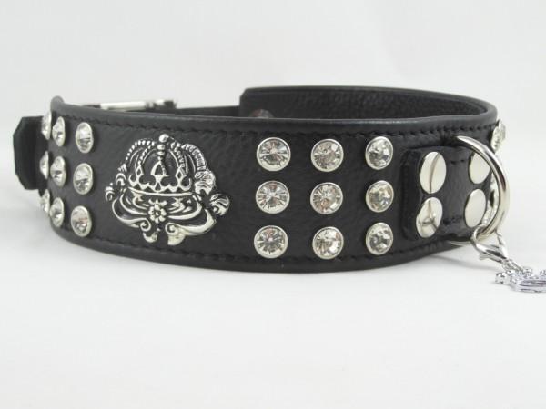 """Luxus Strasshalsband """"Crown"""""""